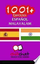 1001+ Ejercicios Español - Malayalam