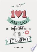 101 maneras infalibles de decir te quiero (Fixed Layout)