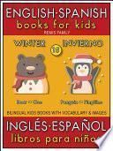 15 - Winter (Invierno) - English Spanish Books for Kids (Inglés Español Libros para Niños)
