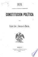 1878, Constitución política del estado libre y soberano de Morelos