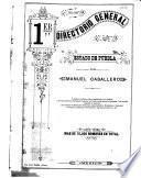 1er directorio general del estado de Puebla por Manuel Caballero