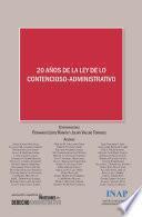 20 años de la ley de lo contencioso-administrativo: Actas del XIV Congreso de la Asociación Española de Profesores de Derecho Administrativo