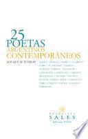25 poetas argentinos contemporáneos