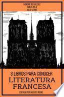 3 Libros para Conocer Literatura Francesa