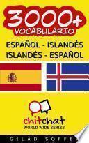 3000+ Español - Islandés Islandés - Español Vocabulario