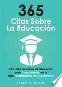 365 citas sobre la educación