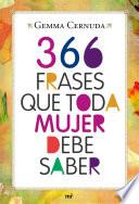 366 frases que toda mujer debe saber