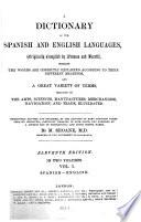 A Dictionary of the Spanish and English Languages