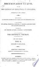 A New Dictionary of the Spanish and English Languages, etc
