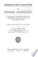 A Spanish anthology