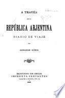 Á través de la República Arjentina