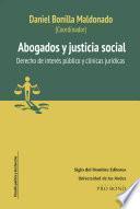 Abogados y justicia social
