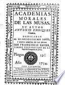 Academias morales de las musas