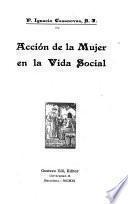 Acción de la mujer en la vida social