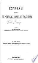 Acta coniurationem bani Petri a Zrinio et com. Fr. Frangepani illustrantia