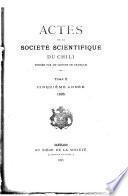 Actas de la Sociedad Científica de Chile