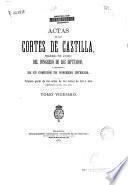 Actas de las Cortes de Castilla...
