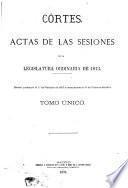 Actas de las Cortes