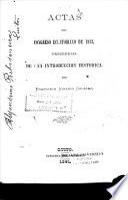 Actas del Congreso Ecuatoriano