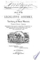Acts of the Legislative Assembly of the Territory of New Mexico
