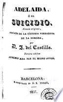 Adelaida, ó, El suicidio