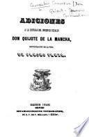 Adiciones a la historia del ingenioso hidalgo Don Quijote de la Mancha