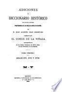 Adiciones al Diccionario histórico de los más ilustres profesores de las bellas artes en España de Juan Agustín Ceán Bermúdez