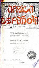 Africa española, revista de colonizacion