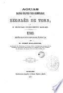 Aguas salinas-sulfuro-yodo-bromuradas, de Segalés de Tona y su proyectado establecimiento balneario
