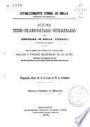Aguas termo-bicarbonatadas-nitrogenadas de Urberuaga de Urbilla (Marquina), anteiglesia de Jemein
