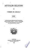 Aguinaldo religioso del Correo de Caracas, 1853