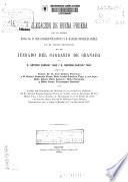 Alegación de buena prueba por los señores Excmo. Sr. D. José Genaro Villanova y D. Rafael González Pérez, en el pleito promovido en el juzgado del Sagrario de Granada