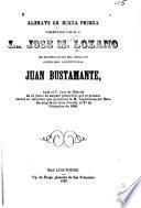 Alegato de buena prueba presentado por el C. Lic. Jose M. Lozano en representacion del ciudadano gobernador constitucional Juan Bustamante, ante el C. Juez de distrito en el juicio de amparo promovido por el primero contra el veredicto que pronunció la H. legislatura del estado, erigida en gran jurado, el 27 de diciembre de 1868