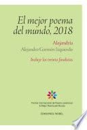 Alejandría. Premio Internacional de Poesía Jovellanos 2018