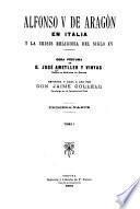 Alfonso V de Aragón en Italia y la crisis religiosa del siglo XV