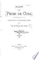 Algo sobre peces de Cuba