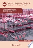 Almacenaje y expedición de carne y productos cárnicos. INAI0108