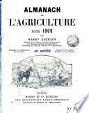 Almanach de l'Agriculture