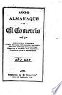 Almanaque de El Comercio.