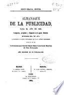 Almanaque de La Publicidad para el año de 1865