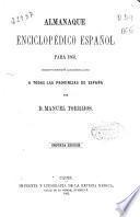 Almanaque enciclopédico español para 1863