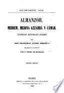 Almanzor, Meriem, Medina Azzahrá y Cámar