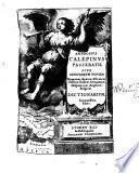AMBROSIVS CALEPINVS PASSERATII SIVE LINGVARUM NOVEM Romanae, Graecae, Ebraicae, Gallicae, Italicae, Germanicae, Hispanicae, Anglicae, Belgicae DICTIONARIVM