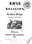 Amor y religion, ó, La jóven griega
