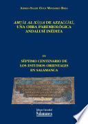 Amṯāl al-xāṣṣa de Azzağğālī, una obra paremiológica andalusí inédita