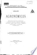 Anales agronómicos