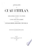 Anales de Cuauhtitlan