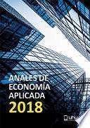 ANALES DE ECONOMÍA APLICADA (2018)
