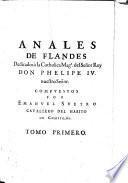 Anales de Flandes (etc.)