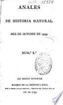 Anales de historia natural